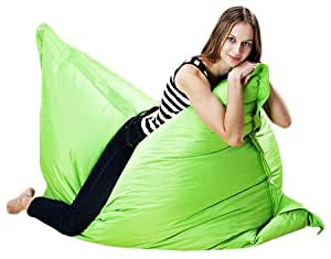 Puregadgets XXXL Extra Large Adult Beanbag Cushion Sofa Chair Pod Seat Bean Bag available in Green