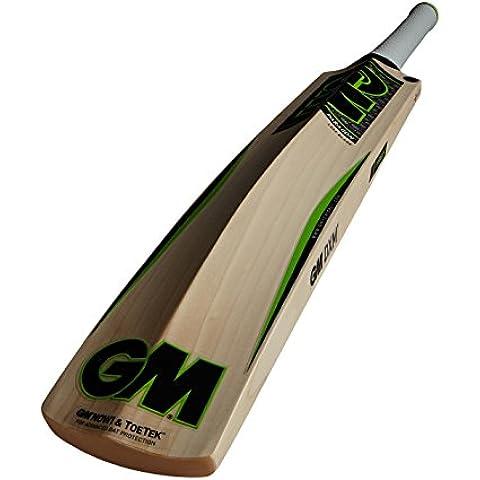 Gunn y Moore parangón F4,5 DXM 404 TTNOW sauce Inglés bate de Cricket - verde, mango corto