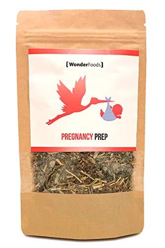 Pregnancy Prep Himbeerblätter-tee - perfekt für die Schwangerschaft geeignet | 100{980e7dcbfa3e3edb7526c4a39b926c97b8866e5942402d131ecc45dfca19840c} natürlich | Wirkt Wehen fördernd | 50g Schwangerschaftstee geeignet ab der 34. SSW