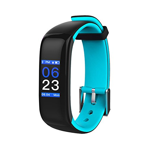 Price comparison product image Aupalla Kids Activity Trackers with Heart Rate Monitor Sleep Monitor Smart Health Watch for Girls and Boys (Blue+Black)