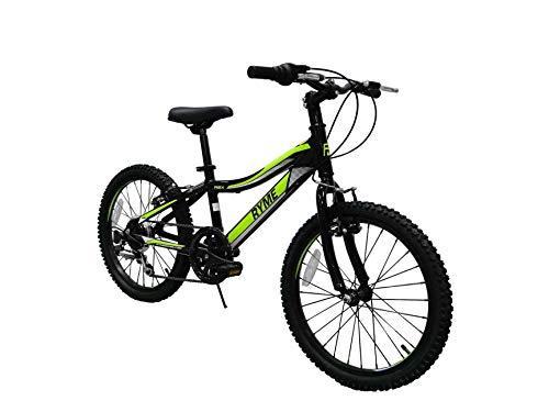 Rymebikes Rex Bicicleta, Unisex niños, Verde, Talla Única