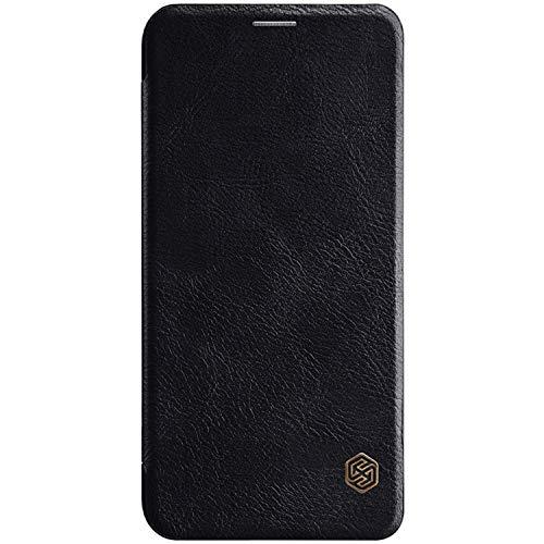 Preisvergleich Produktbild Tiga Shopping Xiaomi Mi A2 Lite / RedMi 6 Pro Fall - Boutique Business Schlank Leder Flip Case Cover für Xiaomi Mi A2 Lite / RedMi 6 Pro - Schwarz