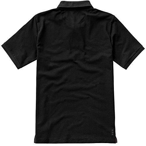 ELEVATE Calgary Poloshirt Black
