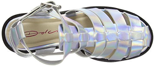 Dolcis OLP245, Gladiatore donna Argento (Silver)