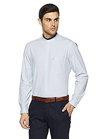 Indigo Nation Men's Formal Shirt (8907372923253_1ISE774239_39 cm_White)