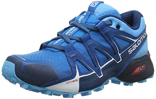 Salomon Damen Speedcross Vario 2 Trailrunning-Schuhe, blau/hellblau (hawaiian surf/aquarius/mykonos blue), Gr. 36 2/3