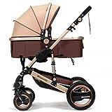 Mele Babywagen Höhenlanzwagen Liegen oder Dämpfungsklapplicht Zwei-Wege-Baby Vier Jahreszeiten,A