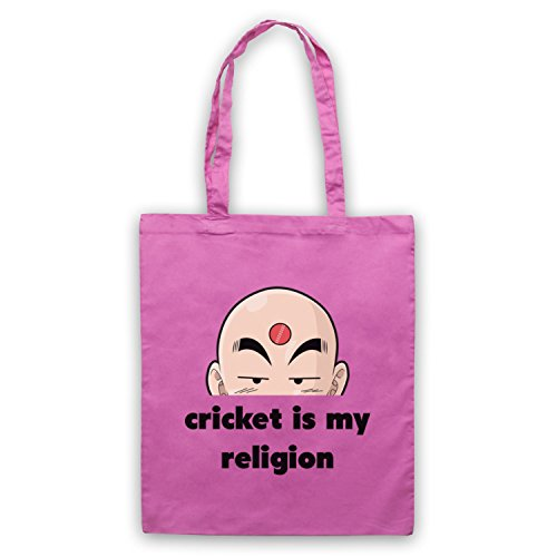 Cricket Is My Religion Cricket Slogan Umhangetaschen Rosa