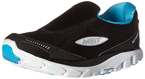 MBT Speed 16 Slip On W, Zapatillas de Deporte para Mujer, (Black/Sky Blue/White), 36 EU