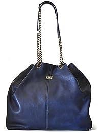 Pratesi Bari Italian Leather bolso de hombro del cubo del hobo