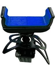 Soporte para bicicletas soporte Holder 360grados giratoria para 3,5–6pulgadas teléfonos móviles Rojo, azul