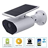 WLAN Überwachungskamera Solarpanel Wiederaufladbar Batterie kabellose WiFi IP Camera 1080P Wasserdichte Outdoor Motion IR Night-Version, Zwei-Wege-Audio, Fernbedienung über Smartphone/Tablet/PC