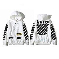 Off-White Hoodie Fashion White Hooded Unisex Sweatshirt For Man Woman