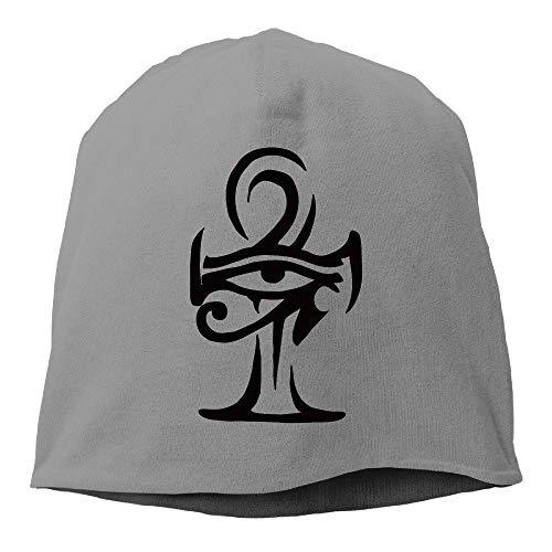 ca39e06a Ejdkdo Unisex Egyptian Ankh Eye Tattoo Outdoor Trendy Skull Ninguno Beanie  Tapas New5