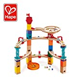 Hape-HAPE-E6019-Jeux de Construction et Circuit de Billes Castle Escape Jouets en Bois, E6019, Multicolore