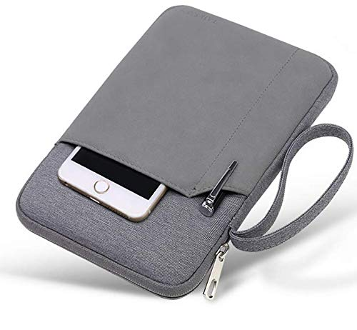 Extra Pocket Canvas Schutzhülle Tasche für Chuwi Hi9 Pro 8.4 / Huawei MediaPad M5 8.4 / Alldocube X1 8.4 / iPad 9.7 / Jumper EZpad Mini 4S 8.3 / Chuwi Hi9 8.4 Tablet - Pocket Jumper