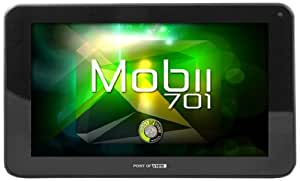 """Point Of View TAB-P701 Tablette tactile 7"""" (17,78 cm) ARM Cortex A9 1,2 GHz 4 Go Android Jelly Bean 4.1.2 Wi-Fi Noir"""