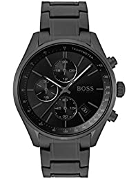 185539a6cc8 Hugo Boss Mens Chronograph Quartz Watch with Stainless Steel Strap 1513676