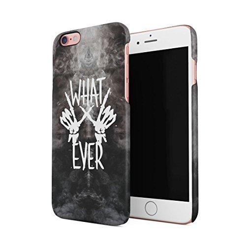 Black Is Not Sad, It's Poetic Dünne Rückschale aus Hartplastik für iPhone 6 & iPhone 6s Handy Hülle Schutzhülle Slim Fit Case cover Whatever