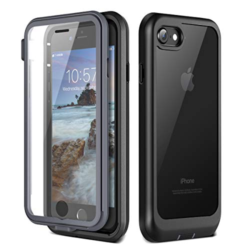 Prologfer Funda iPhone 7/8 360 Grados Transparente