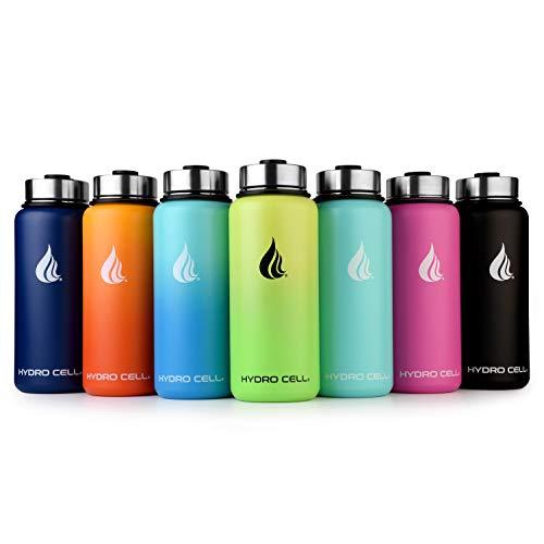 elstahl Wasser Flasche (32Oz)-doppelwandig, Vakuum versiegelt isoliert Becher-Auslaufsicher und Sweat Proof Drinkware für Outdoor, Sport, Fitnessstudio, Reisen, weiß ()