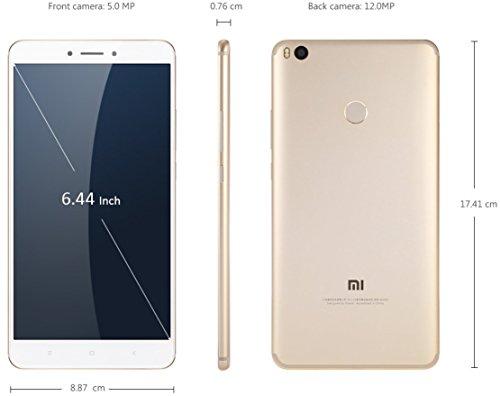 Xiaomi Mi MAX 2 Dual Sim 4GB 64GB Oro/Blanco 12MP 6.44' 4g