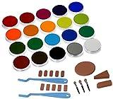 PanPastel Pastelle-Set mit 20Farben–Reine Farben/Malerei Set