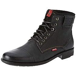 Levi's Men's Fowler Biker Boots 12