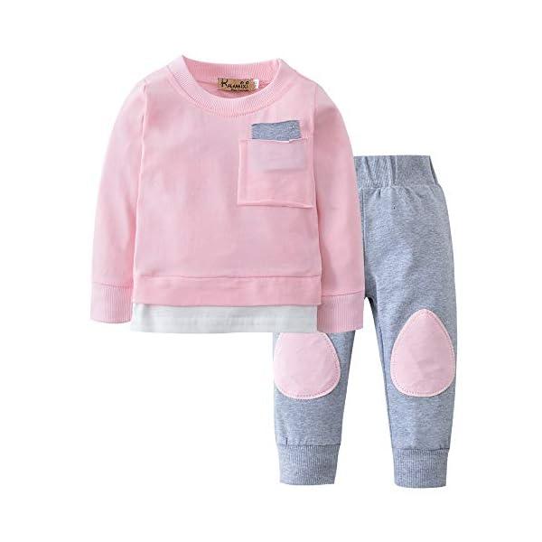 Trisee Ropa Bebe Niño Otoño Invierno Sudaderas Manga Larga Camisetas Blusas + Pantalones Largos Conjuntos De Ropa… 3