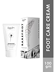 Fizzy Fern Barefoot Foot Cream Hydration For Dry and Cracked Heels, 100 g