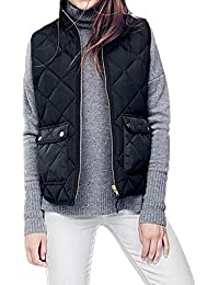 ZIYOU Female Ärmellos Jacket Frauen Winter Hoodie Weste mit Kapuze Damen Sleeveless Pullover Streetwear Mantel