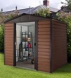 Yardmaster SACHSEN dispositivo casa Konstanz 108casetta per attrezzi in metallo giardino casetta per attrezzi