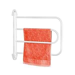 Orbegozo TH 8003 – Toallero eléctrico, fácil instalación, seca y calienta toallas, rotación ajustable, indicador…