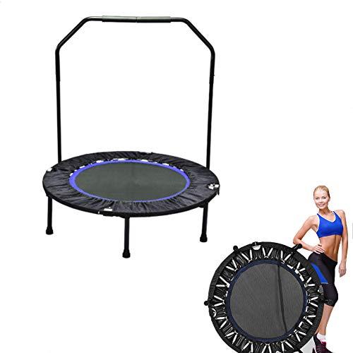 SVNA Fitness Trampolin Mini Trampoline de Remise en Forme Pliable Pour famille Adulte Adulte intérieur exercice de Fitness Maximum 150kg
