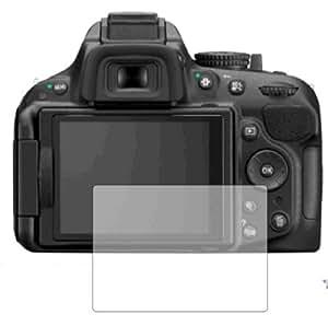 3 x Membrane Films de protection d'écran Nikon D5200 - Ultra clair, Emballage et accessoires