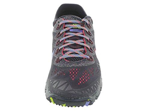 Nike Zoom Terra Kiger 2 Femmes Synthétique Chaussure de Course Cave Purple-Hyper Punch