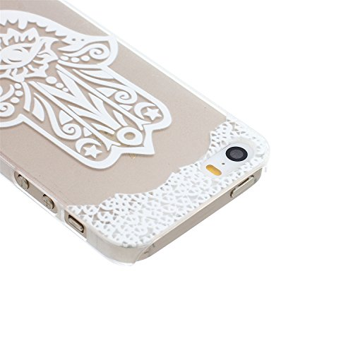 ARTLU® Henna Million Spent Ethnic Tribal Plastik Schutzhülle Case Cover Schale Fall Tasche Hülle für Apple iPhone 6/6S Hülle Handytasche HandyHülle Etui Schale M2 M2