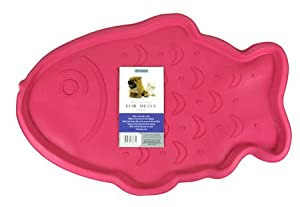 Rosewood Cat Bowl Mat Fish by Rosewood Pet Products
