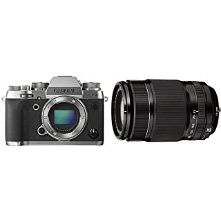Fujifilm X-T2 - Cámara sin espejo de óptica intercambiable de 24,3 MP, grafito - solo el cuerpo + Fujifilm Fujinon XF 55 - 200 mm f/3.5 - 4.8 LM OIS - Objetivo para Fujifilm, color negro [importado] (B079LQ37TF) | Amazon price tracker / tracking, Amazon price history charts, Amazon price watches, Amazon price drop alerts