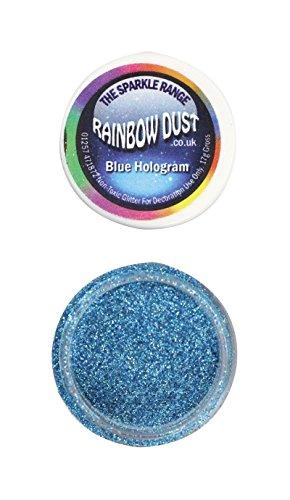 Rainbow Dust - Puderfarben Sparkle Range - Hologram Blue -