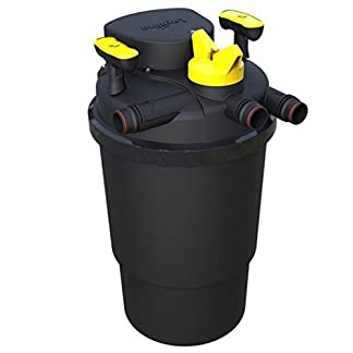 laguna pressure flo 14000 high performance pressurised pond filter with uvc steriliser Laguna Pressure FLO 14000 High Performance Pressurised Pond Filter with UVC Steriliser 41scNGs1kWL