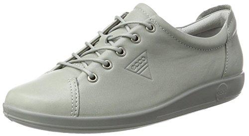Ecco Damen Soft 2.0 Derbys, Grau (Wild Dove), 42 EU