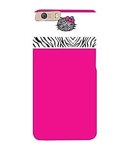 Fuson Designer Back Case Cover for Micromax Canvas Knight 2 E471 ( Classic Pink Color Design )