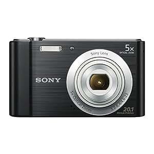Sony DSC-W800 Cyber-Shot Fotocamera Digitale da 20.1 Megapixel, Nero
