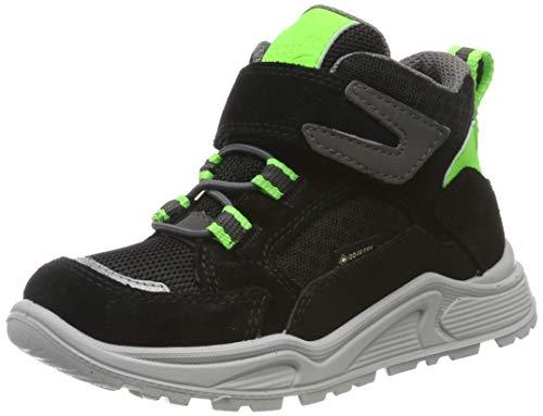 Superfit Jungen Blizzard Gore-Tex Hohe Sneaker, Schwarz (Schwarz/Grau 00), 38 EU