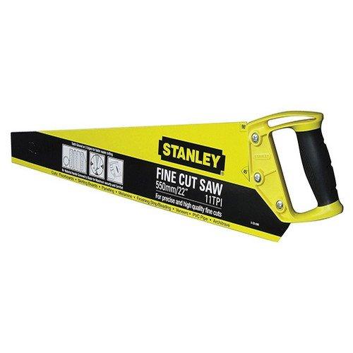 Stanley 1-20-094 500 Scie avec dents affûtées sur 3 côtés 550 mm