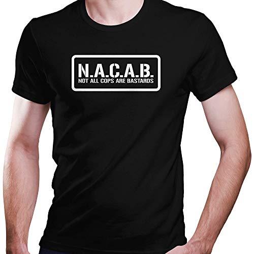 DragonHive Herren T-Shirt nacab ACAB, Größe:S, Farbe:Schwarz