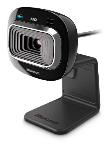 Microsoft LifeCam HD-3000 webcam 1 MP 1280 x 720 Pixel USB 2.0 Nero