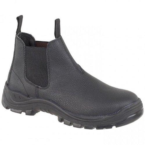 Amblers Steel FS89 - Chaussures de sécurité de marchand à enfiler - Homme Noir
