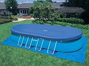 Couverture hivernage INTEX piscine ELLIPSE 5.49mx3.05m Intex 10871